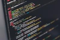 Bild Programmiercode