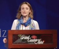 Professorin Stoeger während ihrer Keynote